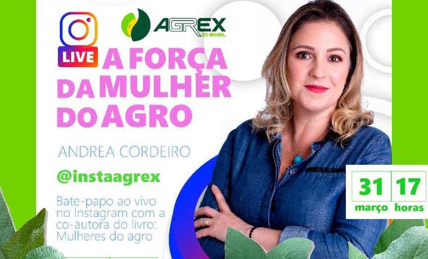 Live: A Força da Mulher do Agro